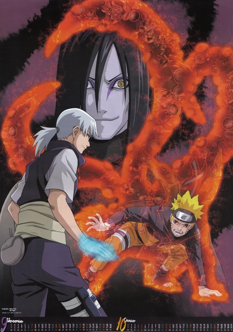 calendario de imagenes de naruto shippuden 2008 Naruto15