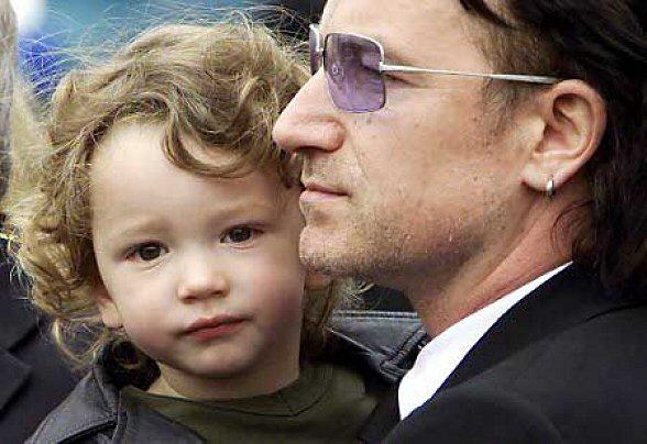 U2 and family Bonoef10