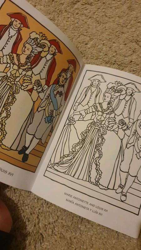 Un livre de coloriage sur Marie-Antoinette 02_02510