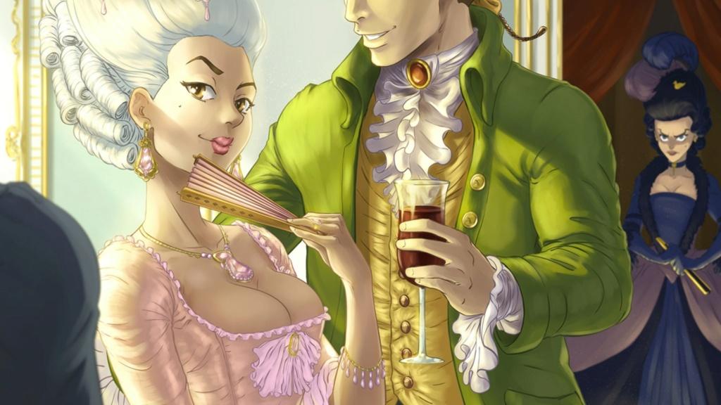 Un visual novel à la cour de Versailles sous Louis XVI vient de sortir sur Steam D3a4c010