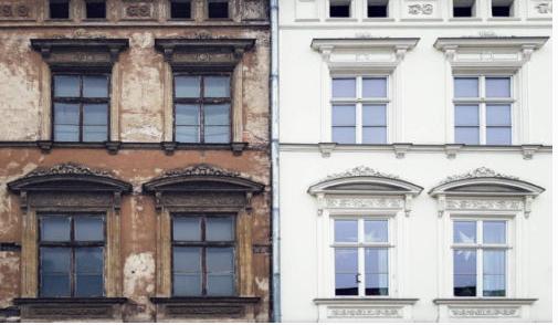 Wilamo - Häuserkulissen 1/45 kpl Strassenzeile - Baubericht - Seite 3 Fassad10