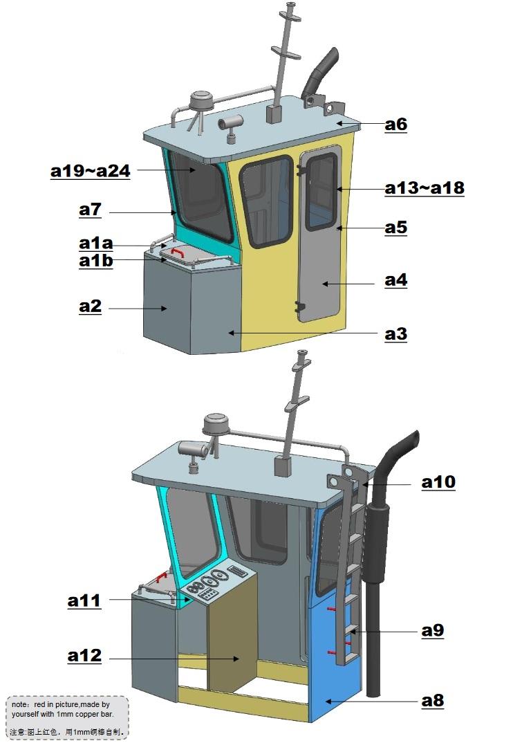 Mini TUG Q1 - Vorstellung und Baubericht Tug_bo14