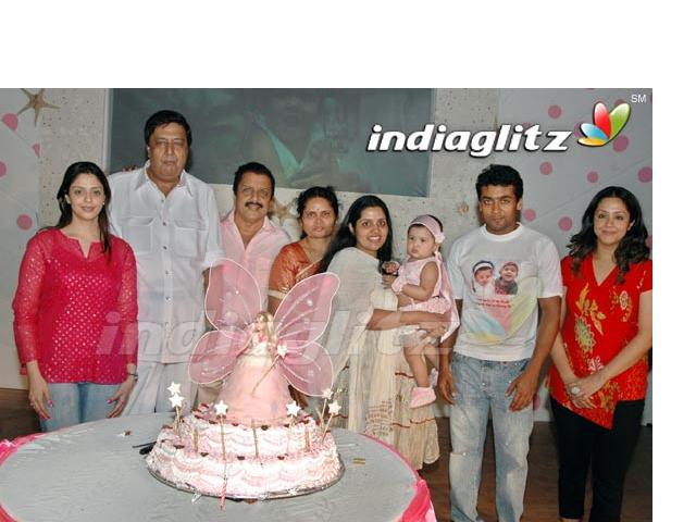 Surya Jo's - Diya's 1st Birthday Sj210