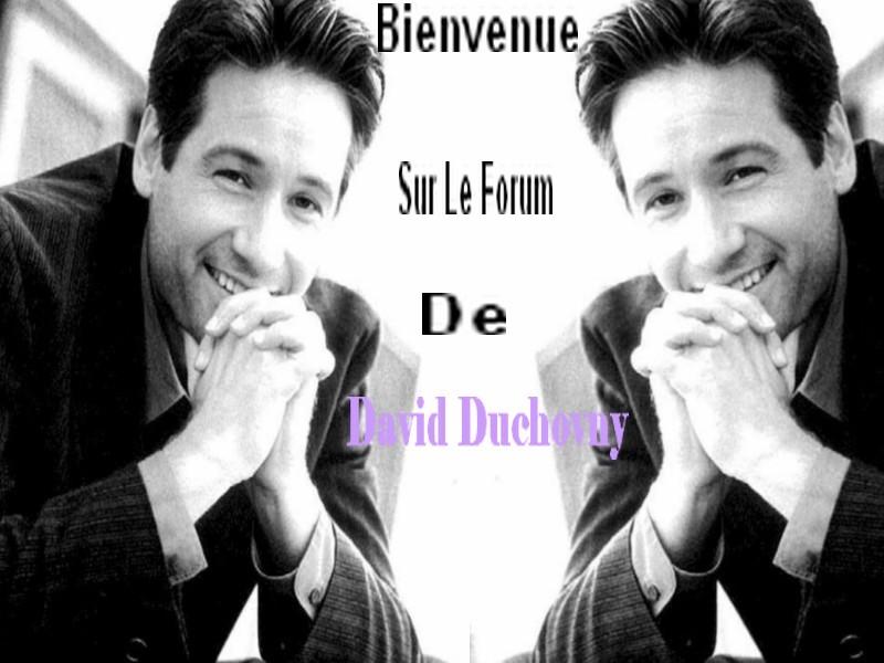 Le Forum De David Duchovny