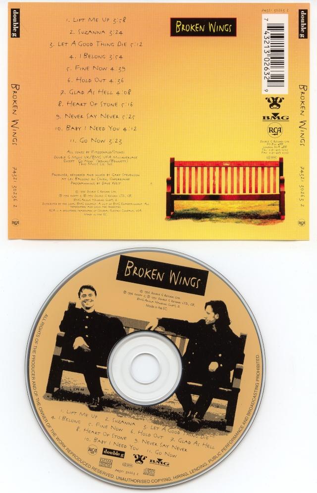 Broken Wings - Broken Wings (1996) AOR Broken11