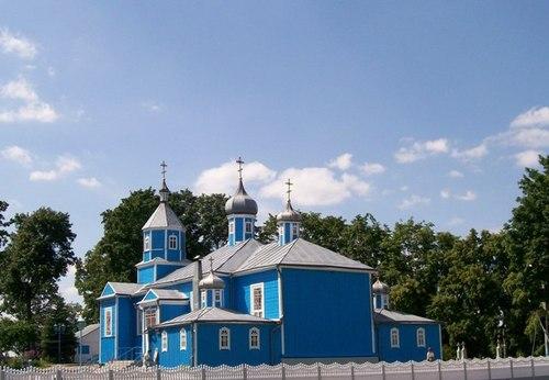 Kobrin, BIELORUSSIE Eglise10