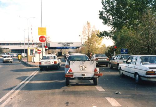 Poste frontière POLOGNE/BIELORUSSIE à Terespol Vooitu10