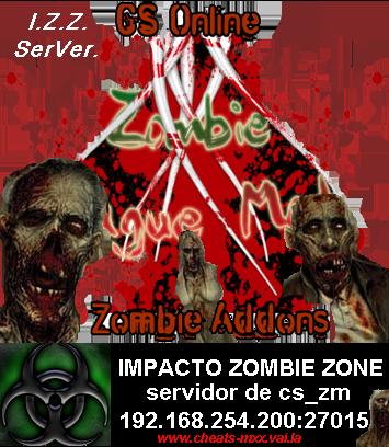 SERVIDOR CS ZOMBIE MOD. Zombie10