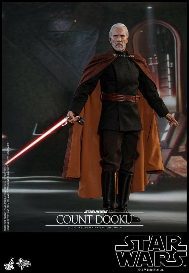MMS???: STAR WARS Ep 2 - ATTACK OF THE CLONES - COUNT DOOKU 35265710