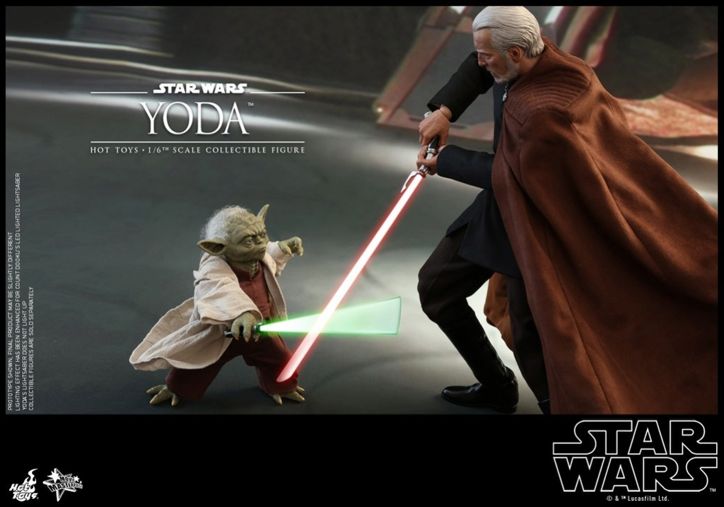 MMS495: STAR WARS Ep 2- ATTACK OF THE CLONES - YODA 35328310