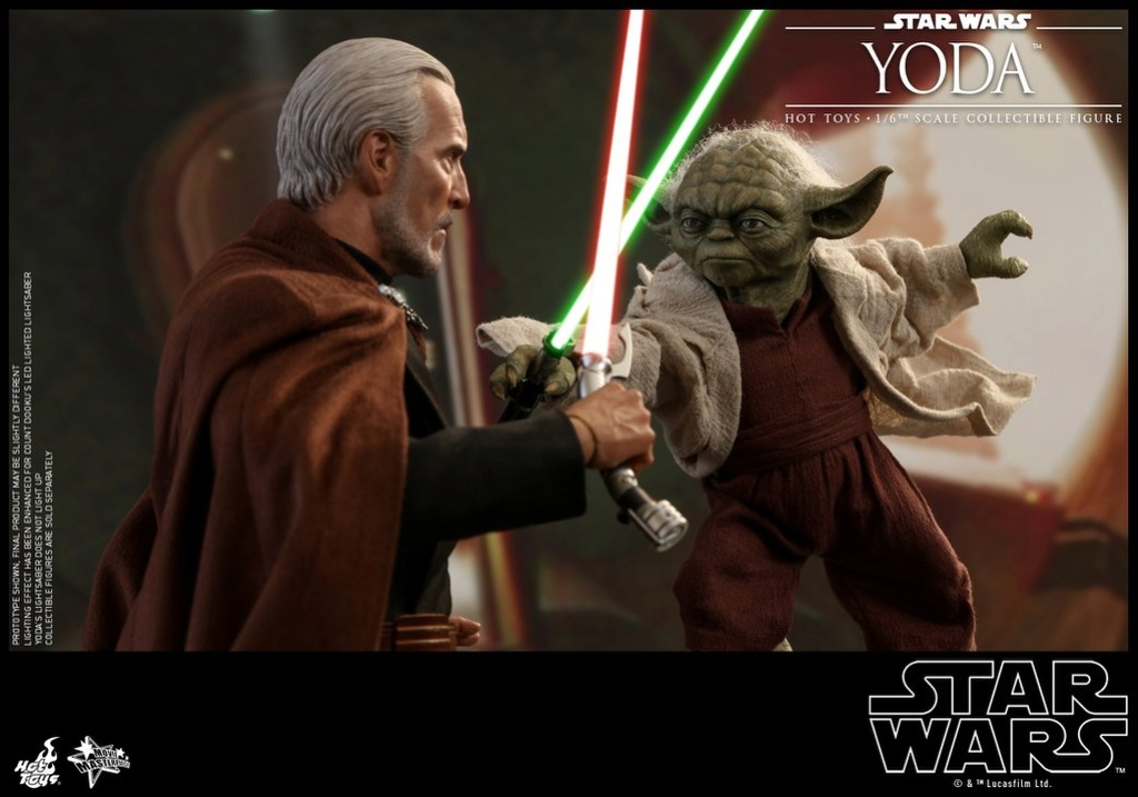 MMS495: STAR WARS Ep 2- ATTACK OF THE CLONES - YODA 35380210