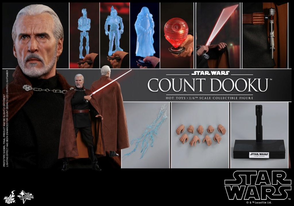 MMS???: STAR WARS Ep 2 - ATTACK OF THE CLONES - COUNT DOOKU 35388010