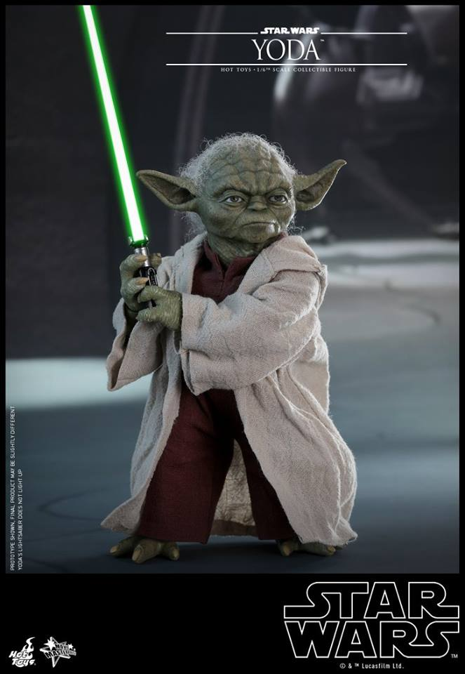 MMS495: STAR WARS Ep 2- ATTACK OF THE CLONES - YODA 35459910