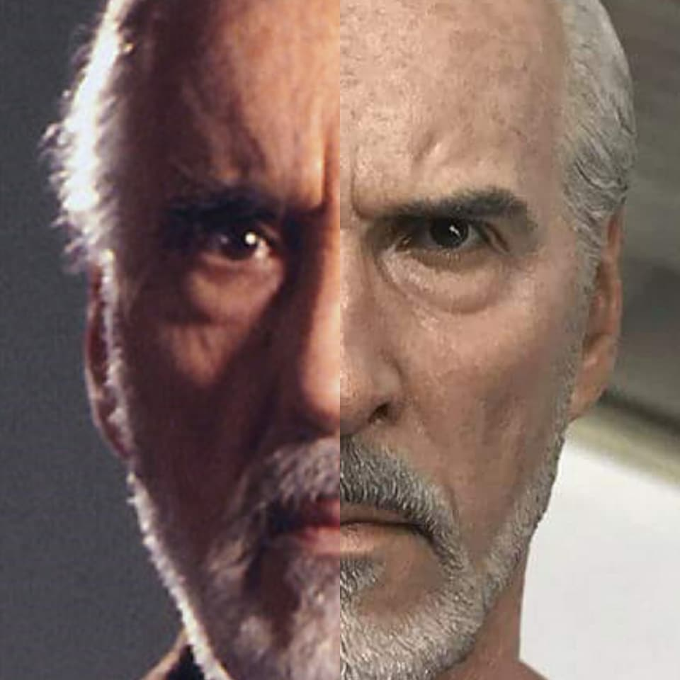 MMS???: STAR WARS Ep 2 - ATTACK OF THE CLONES - COUNT DOOKU 35474710