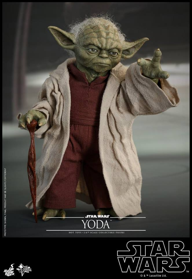 MMS495: STAR WARS Ep 2- ATTACK OF THE CLONES - YODA 35484810
