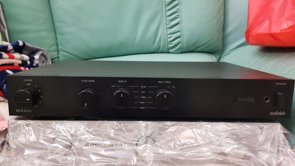 Audiolab 8000Q Preamplifier (sold) 20200510