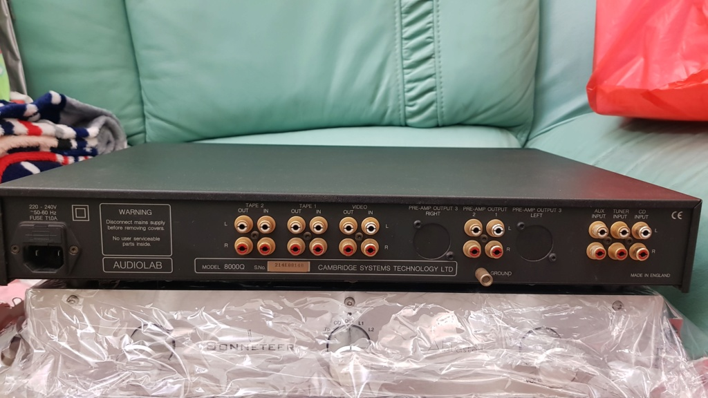 Audiolab 8000Q Preamplifier (sold) 20200511