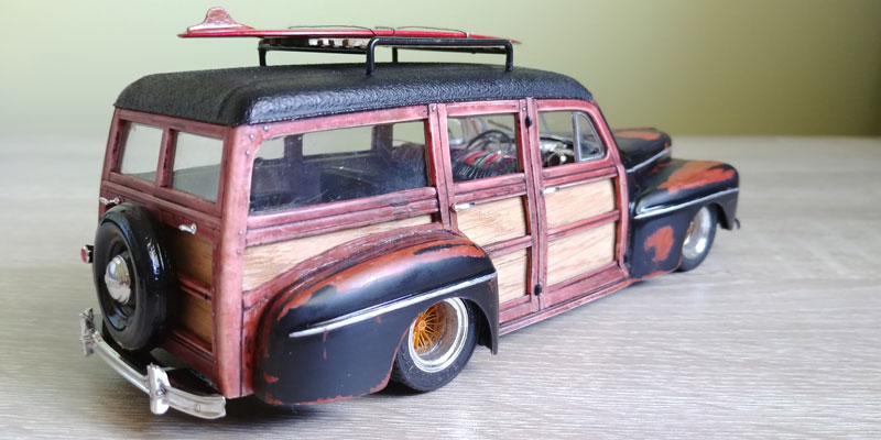 '48 Ford Woody custom Finale18
