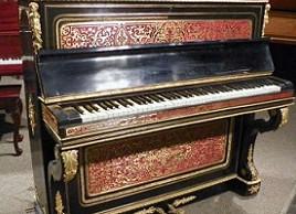 Facteur de pianos et touches en ivoire