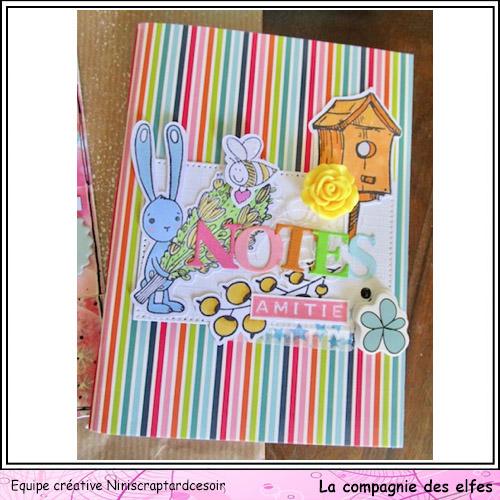 Enveloppes garnies, enveloppes anniversaire. Carnet11