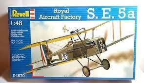 REVELL Royal aircraft Factory SE5A 1/48  Index15