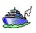 """<FONT COLOR=""""#495CFF""""><U>Le bateau</U></FONT>"""