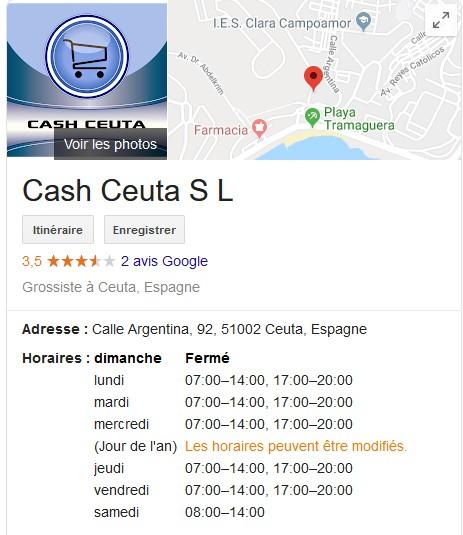 [ESPAGNE] magasin Cash à Ceuta Cash_c10