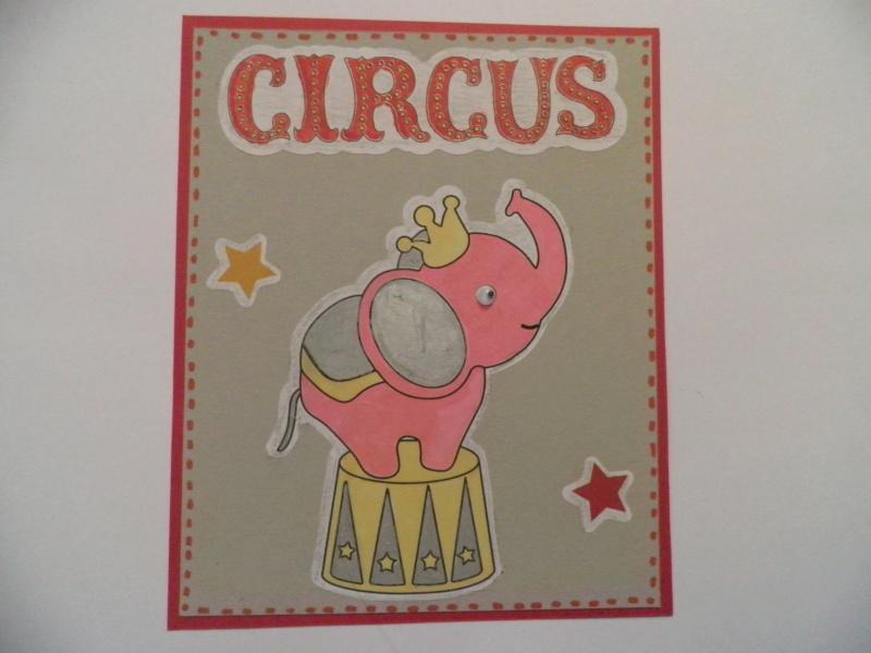 Disney Cards {Dumbo l'Eléphant volant} - Page 3 P8151010