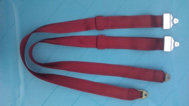 For Sale: '73 Shoulder Belts - Dk Oxblood 73dkox10