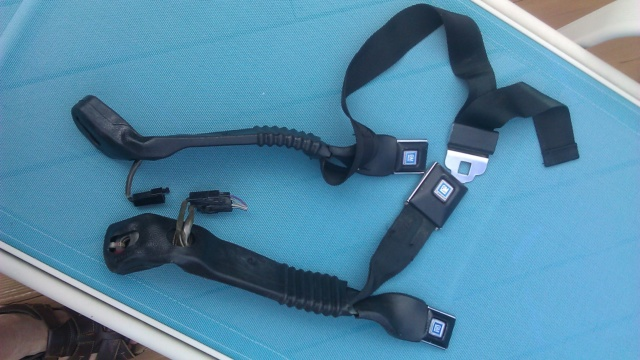 For Sale - Monte Carlo Bench Seat Inner Belts 77377c11