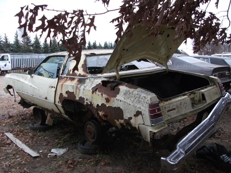 73 CHEVELLE parts car , 400.00 77mont10