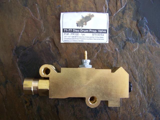 Proportioning valve reset Propva11