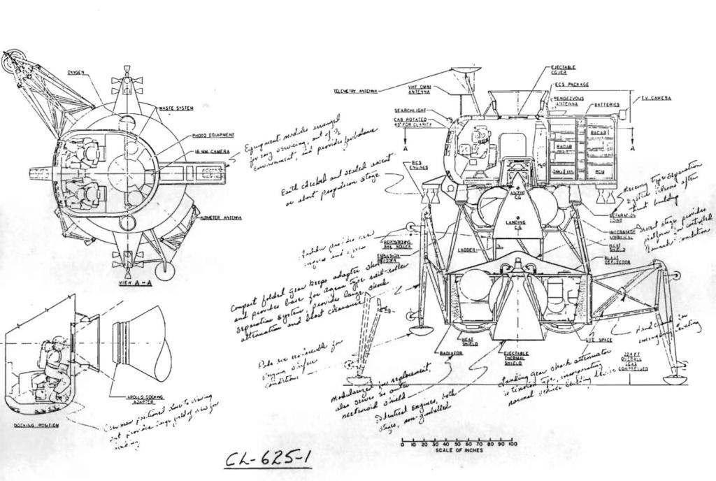 Les modules lunaires auxquels on a échappé Lockhe11