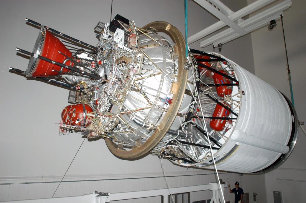Précisions sur le second étage de la Delta IV  Second10