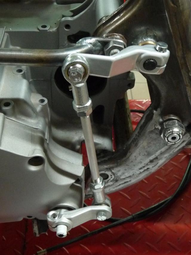 [RESOLU] Déplacer la pédale de frein arrière sur mon bobber+ commande reculée sélecteur tout le déroulé de la modiff....... P1290213