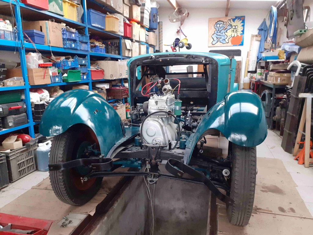 Restauration d'un roadster 201 de 1932 20200420