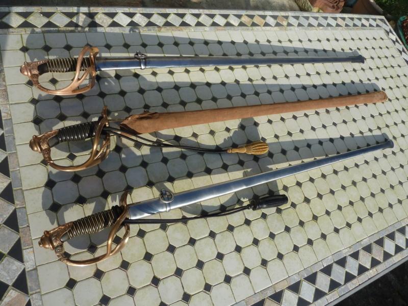 Un modèle injustement mésestimé : le sabre d'officier de cavalerie Mod 1882 P1210210