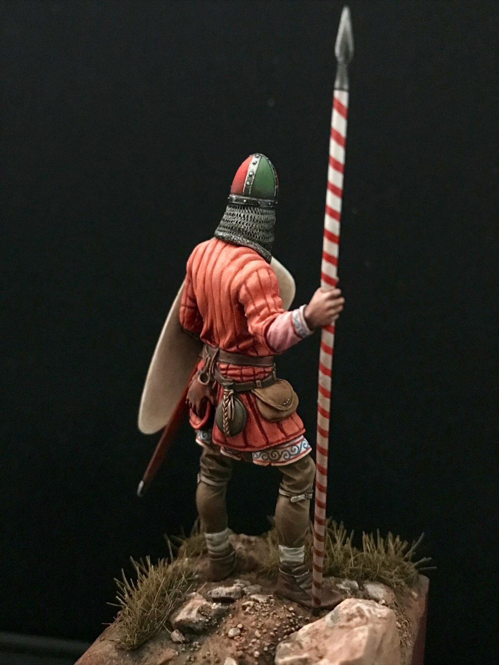 GUERRIER NORMAND - BATAILLE D'HASTINGS 1066 Img_3213