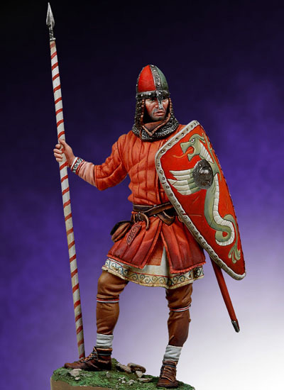 GUERRIER NORMAND - BATAILLE D'HASTINGS 1066 Sm-f5710