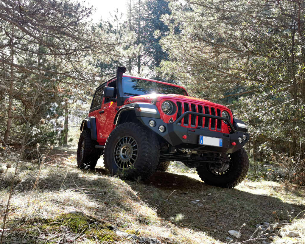 Jeep Wrangler JL Rubicon Firecracker Red by TOTANI Off Road Img_2011