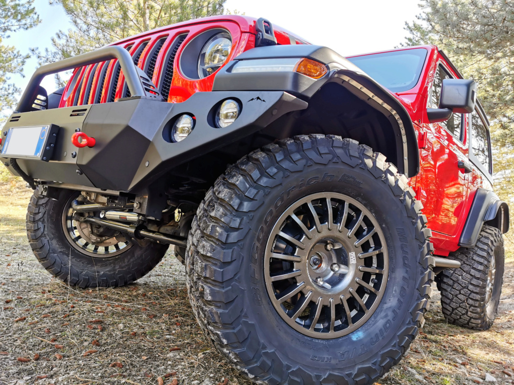 Jeep Wrangler JL Rubicon Firecracker Red by TOTANI Off Road Img_2012