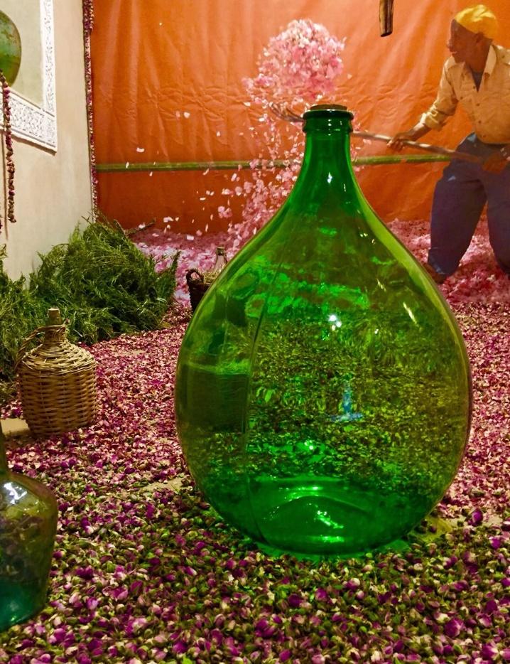 Immersion au coeur du musée du Parfum, les  à Marrakech 00310