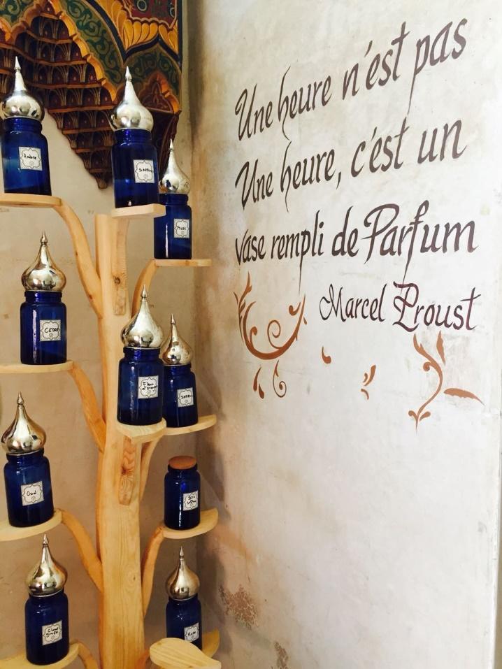 Immersion au coeur du musée du Parfum, les  à Marrakech 00410