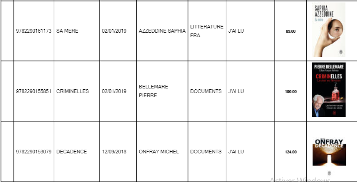 Librairie El Jadida : nouveautés des arrivages au 10 janvier 2019 00610