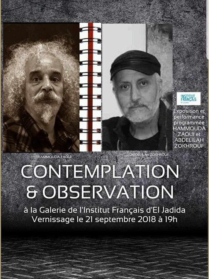 21/09 - Exposition et performance programmée : Hamouda Zaoui  & Abdelilah  Zokhrouf 40803310