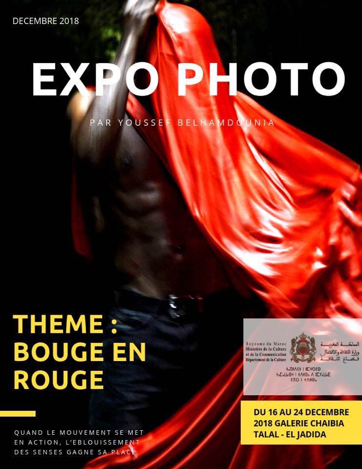 "16/12 au 24/12 - Expo. photos : ""Bouge en rouge"" 48373910"