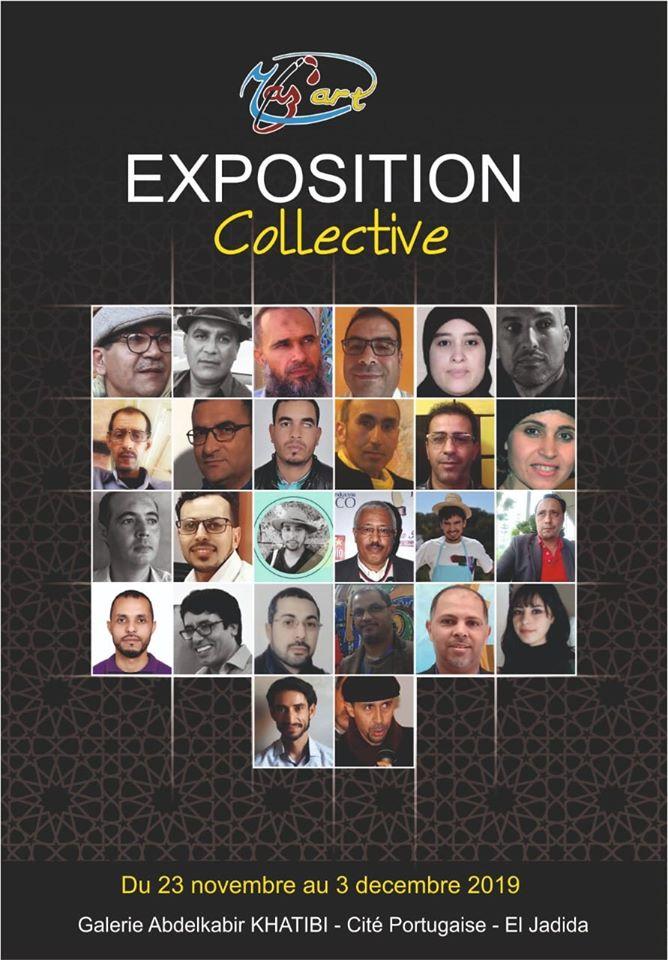 23/11 au 03/12 - Exposition collective  Galerie Abdelkebir-Khatibi  Cité portugaise 75564510