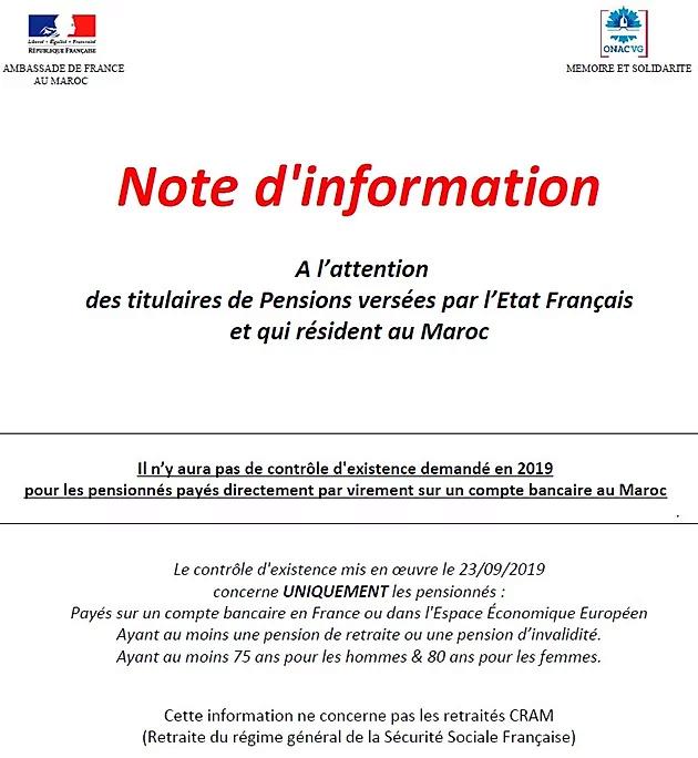 Certificat d'existence : un communiqué de l'ambassade 7a3a7f10