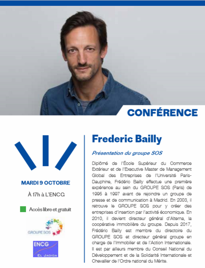 09/10 - Conférence : Frédéric Bailly présente le groupe SOS Bailly10
