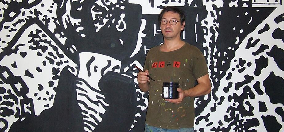Résidence artistique à El Jadida de l'artiste sétois Christophe Cosentino Christ10